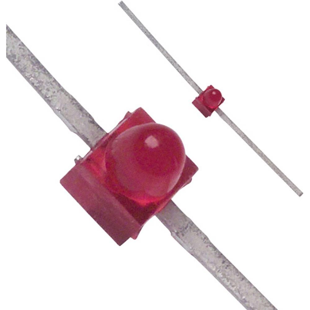 LED bedrahtet (value.1317403) Broadcom 1.9 mm 10 mcd 90 ° 30 mA 1.8 V Rød