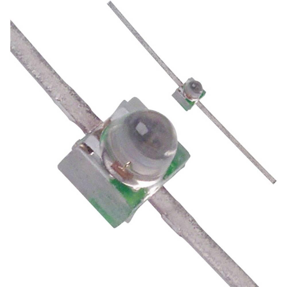 LED bedrahtet (value.1317403) Broadcom 1.9 mm 40 mcd 28 ° 30 mA 2.1 V Grøn