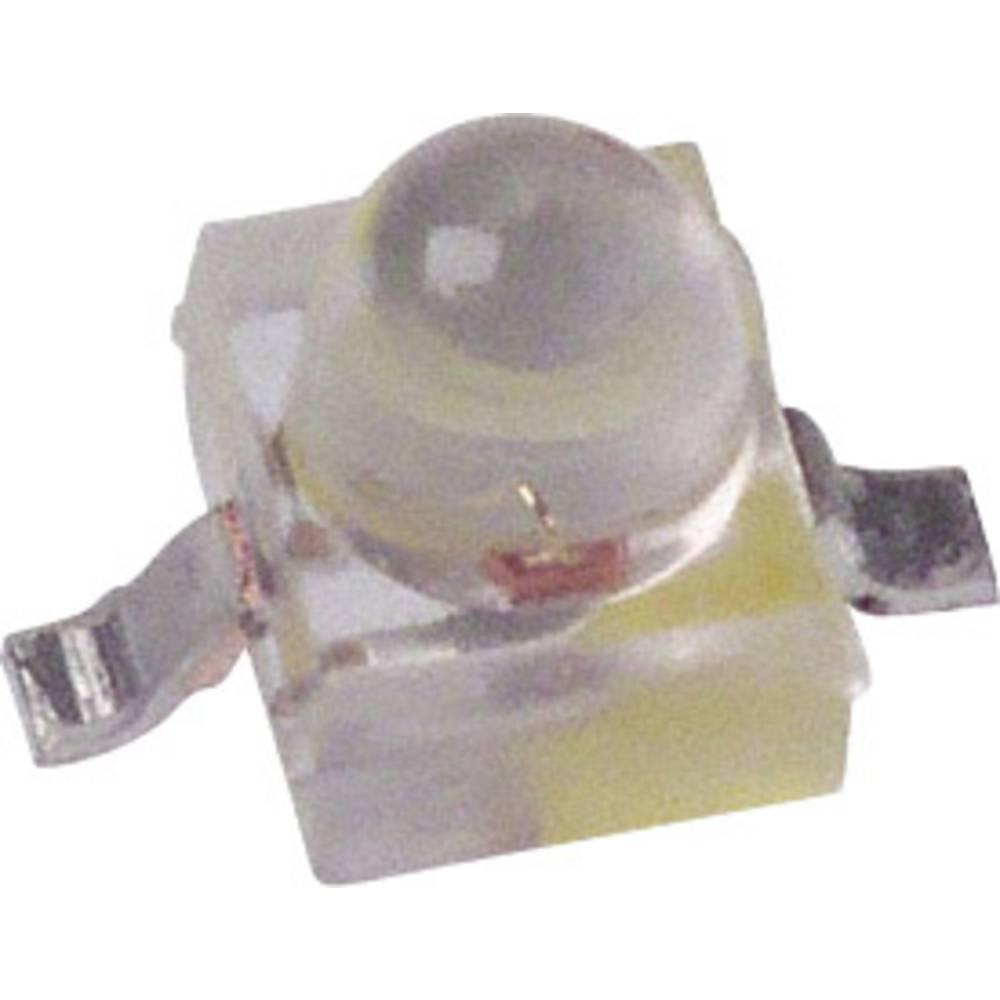 SMD-LED (value.1317393) Broadcom HLMP-6405-J0011 SMD-2 20 mcd 28 ° Gul