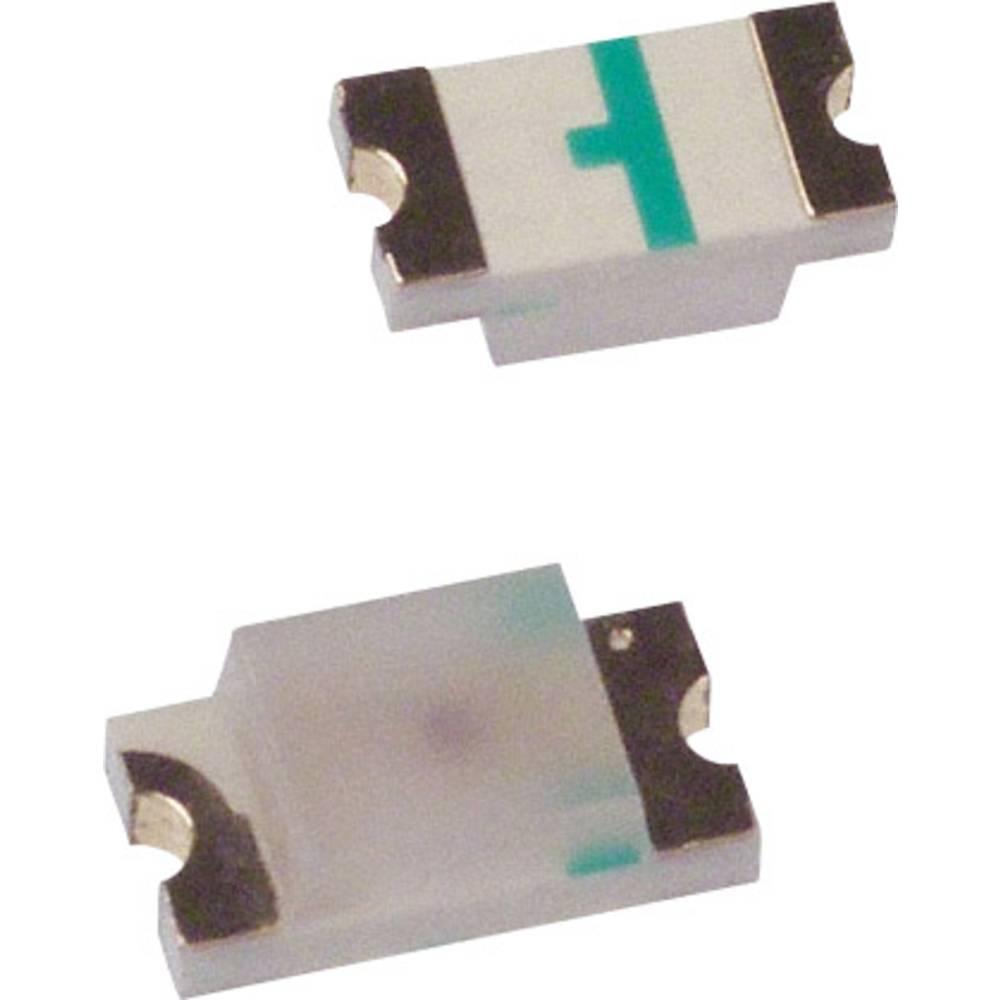 SMD-LED (value.1317393) Broadcom HSMQ-C150 3216 145 mcd 140 ° Grøn