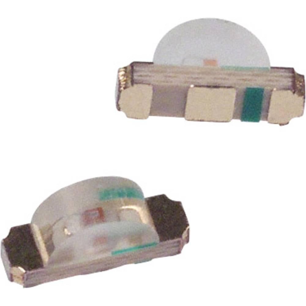 SMD-LED (value.1317393) Broadcom HSMY-C110 SMD-2 8 mcd 130 ° Gul
