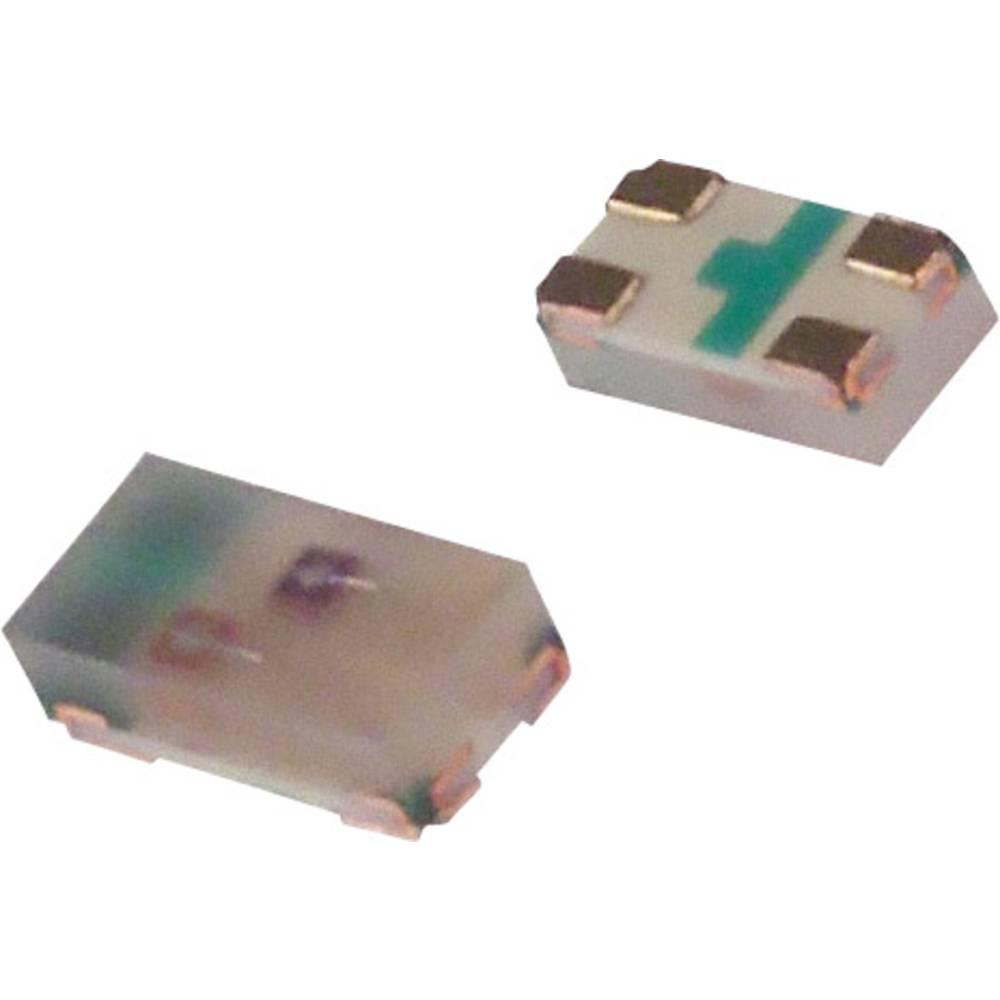 SMD-LED (value.1317393) Broadcom HSMF-C166 1608 15 mcd, 8 mcd 120 ° Grøn, Gul