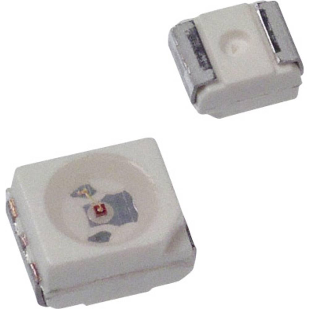 SMD-LED (value.1317393) Broadcom HSMC-A100-Q00J1 PLCC2 100 mcd 120 ° Rød