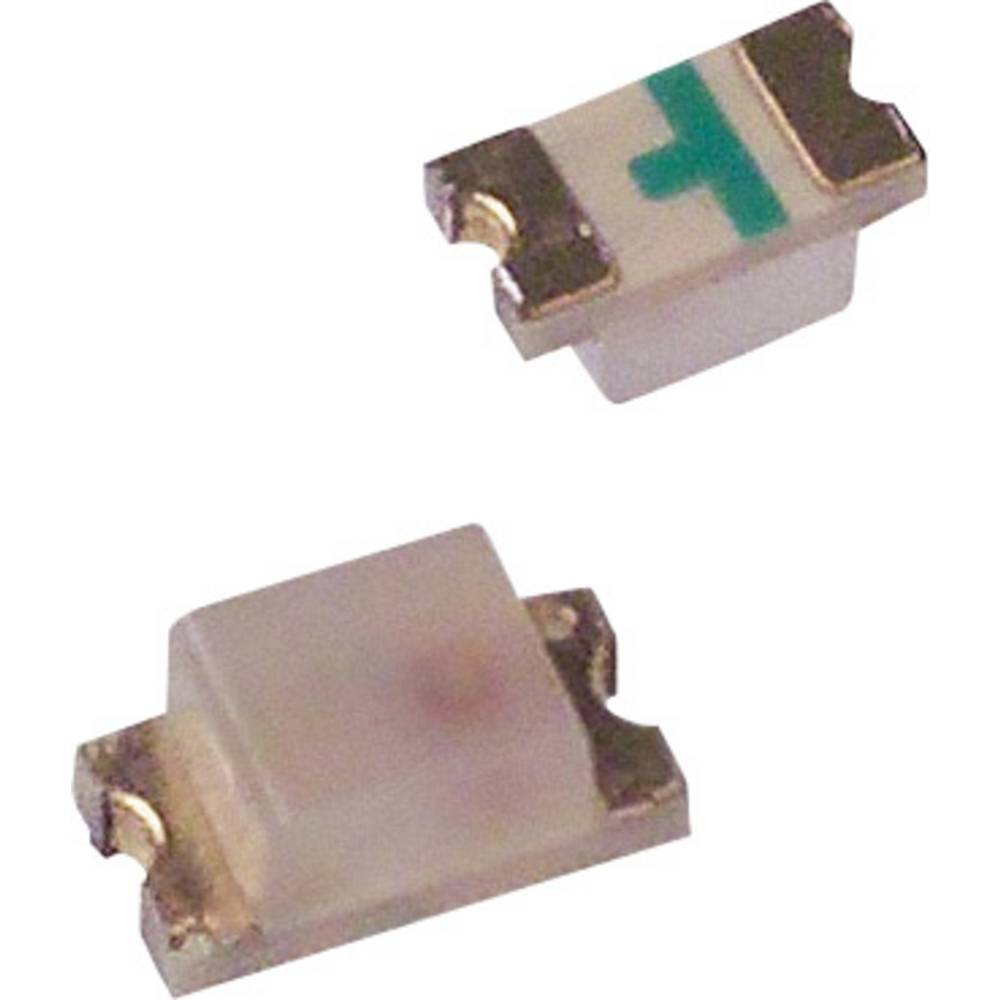 SMD-LED (value.1317393) Broadcom HSMC-C191 1608 90 mcd 170 ° Rød