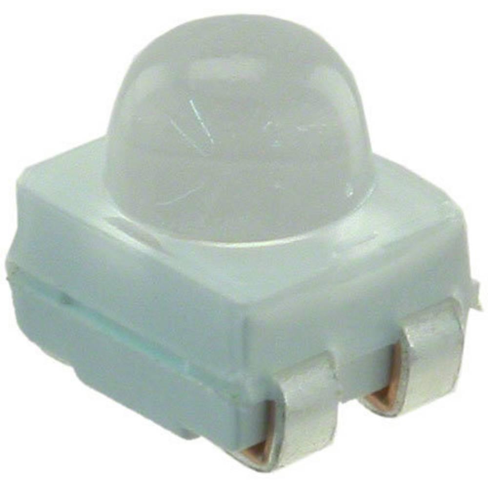 SMD-LED (value.1317393) Broadcom HSMM-A430-X90M2 PLCC4 4695 mcd 30 ° Grøn