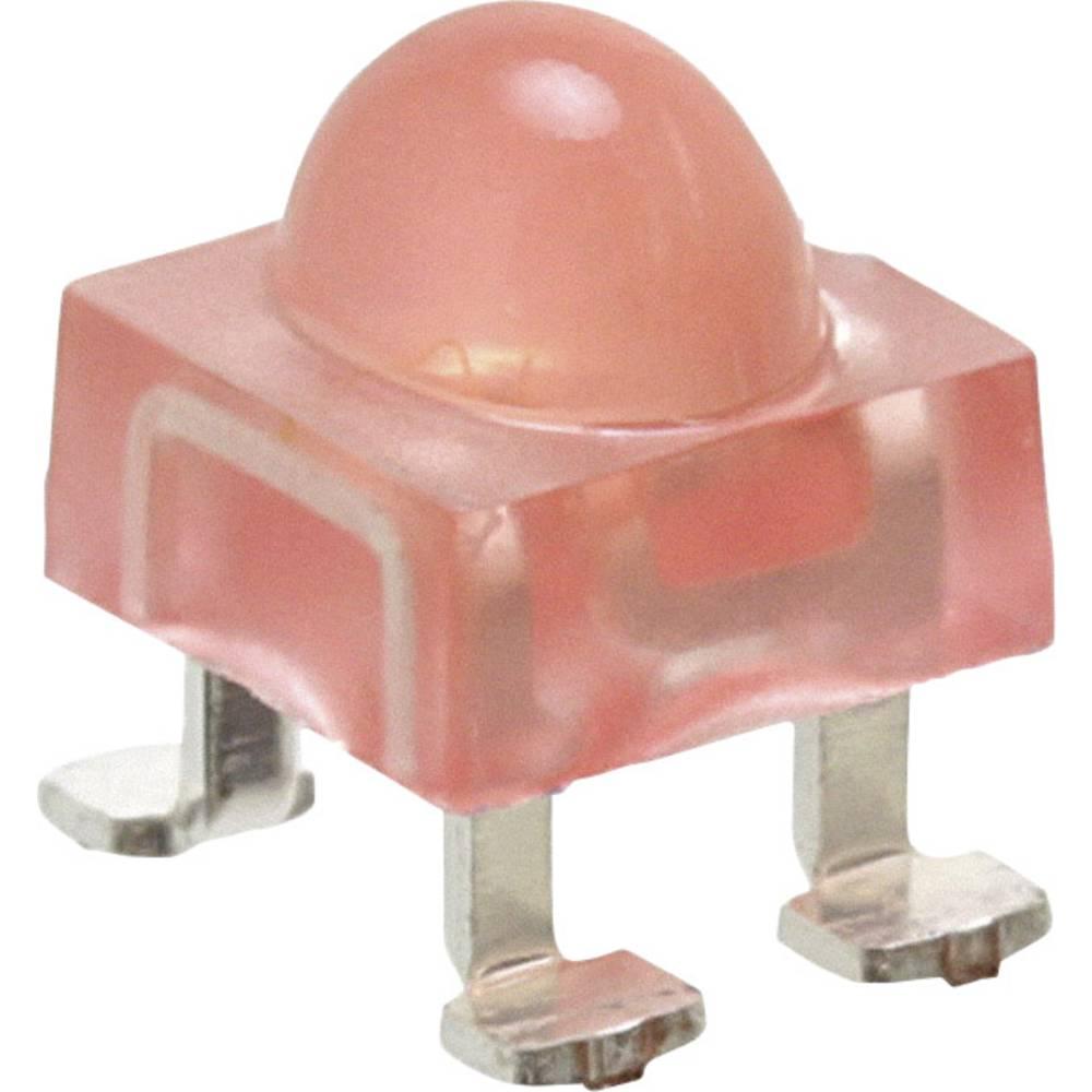 SMD-LED (value.1317393) Broadcom ALMD-LG36-WZ002 SMD-4 2140 mcd 100 °, 40 ° Rød