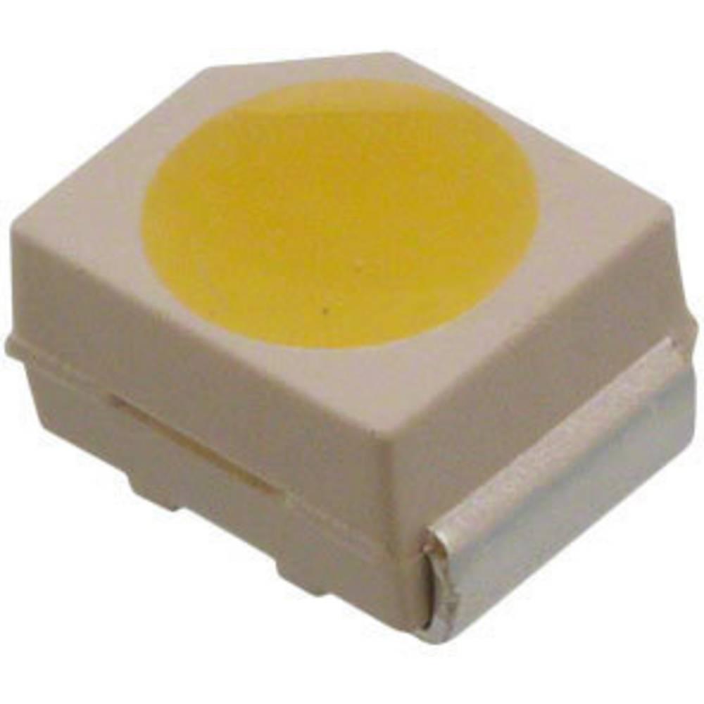 SMD-LED (value.1317393) Broadcom ASMT-UWB1-NX302 PLCC2 2300 mcd 120 ° Kølig hvid