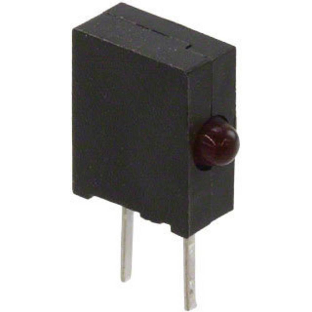 LED bedrahtet (value.1317403) Broadcom 1.8 mm 3.2 mcd 90 ° 50 mA 1.6 V Rød