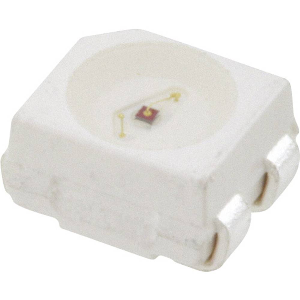 SMD LED Broadcom HSMC-A401-U80M1 PLCC4 980 mcd 120 ° Rød