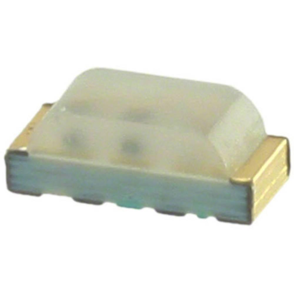 SMD LED Broadcom HSMF-C115 SMD-4 80 mcd, 170 mcd, 60 mcd 120 °, 125 ° Rød, Grøn, Blå