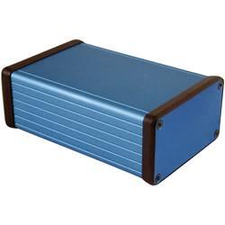 Univerzalno ohišje 120 x 78 x 43 aluminij modra Hammond Electronics 1455K1201BU 1 kos