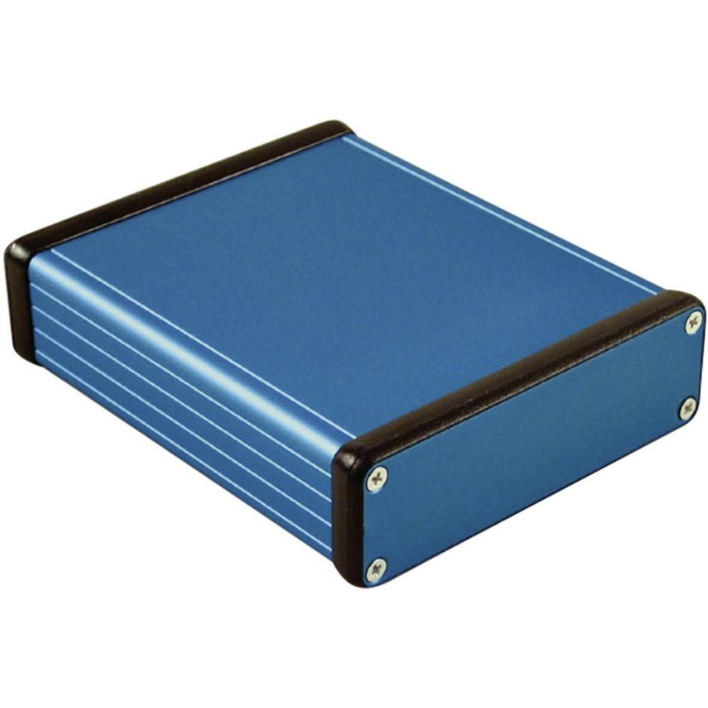 Universalkabinet 120 x 103 x 30.5 Aluminium Blå Hammond Electronics 1455L1201BU 1 stk