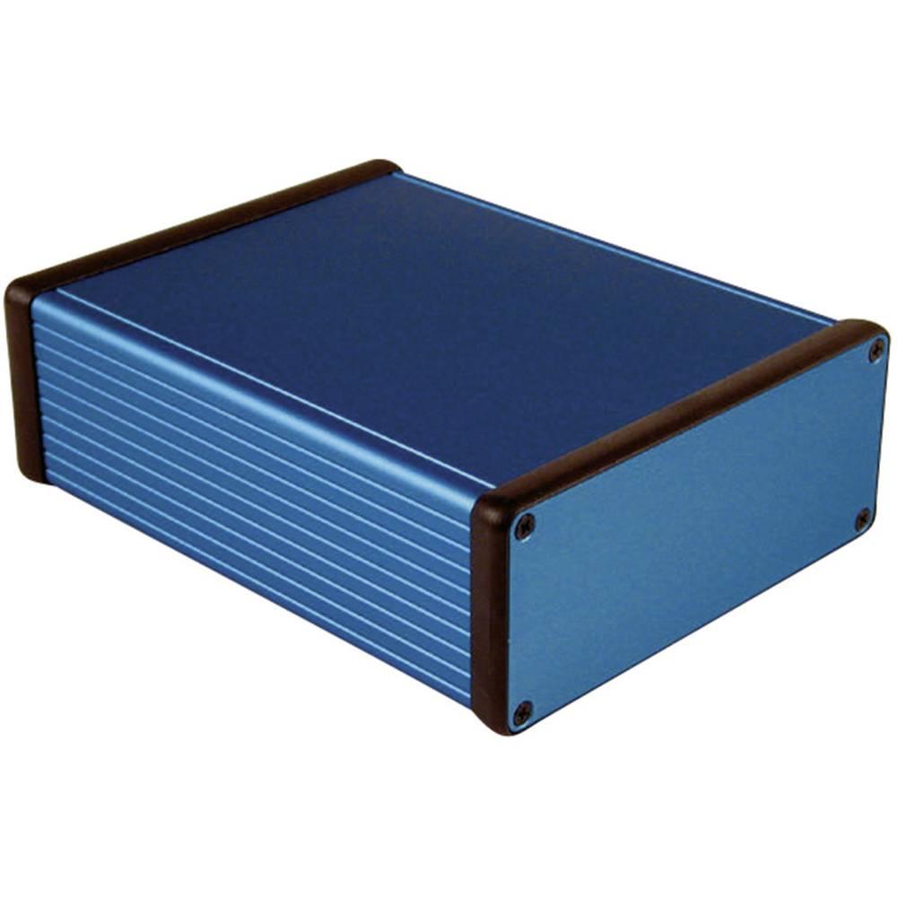 Universalkabinet 160 x 125 x 51.5 Aluminium Blå Hammond Electronics 1455Q1601BU 1 stk