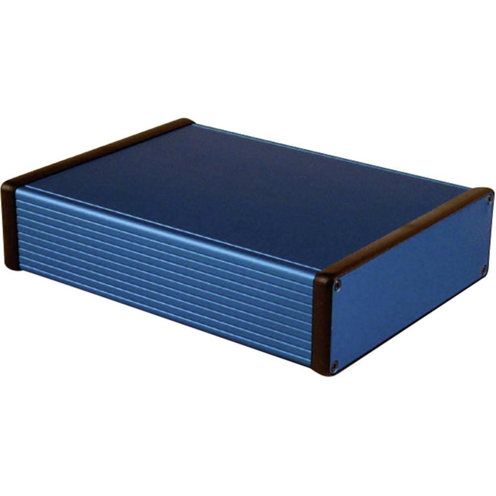 Universalkabinet 220 x 165 x 51.5 Aluminium Blå Hammond Electronics 1455T2201BU 1 stk