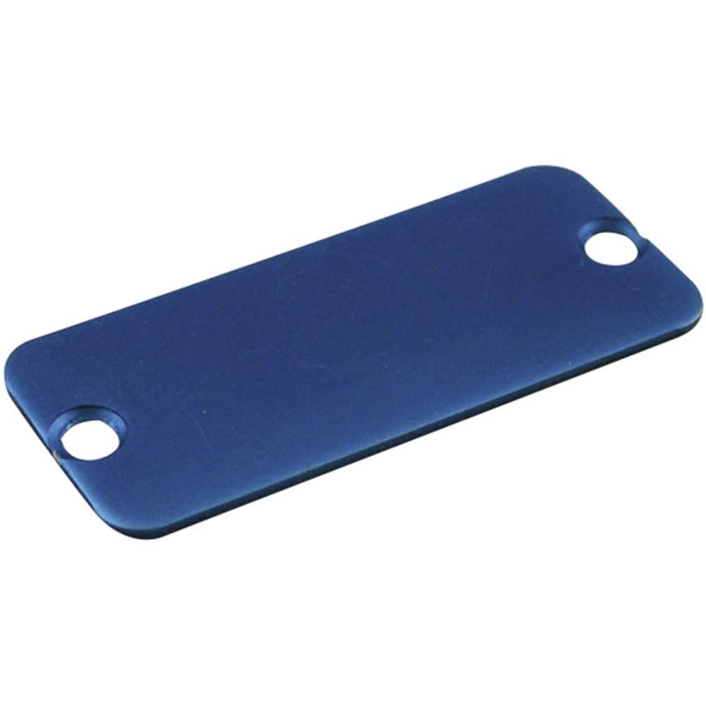 Hammond Electronics ekstrudirano ohišje - End Panel 1455LALBU-10 aluminij modra