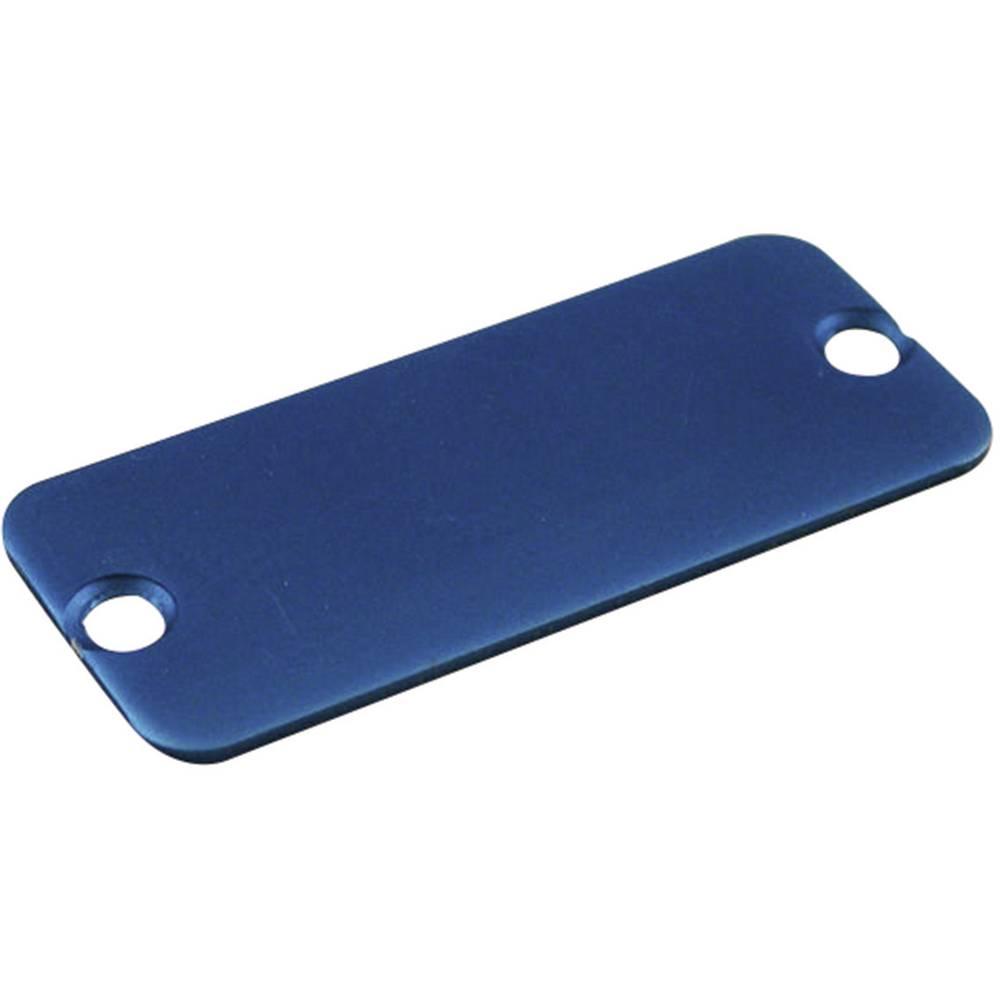 Hammond Electronics ekstrudirano ohišje - End Panel 1455TALBU-10 aluminij modra