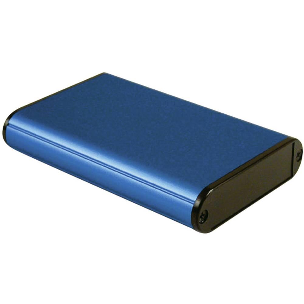 Univerzalno kućište 100 x 71.7 x 19 Aluminijum Plava boja Hammond Electronics 1455B1002BU 1 ST