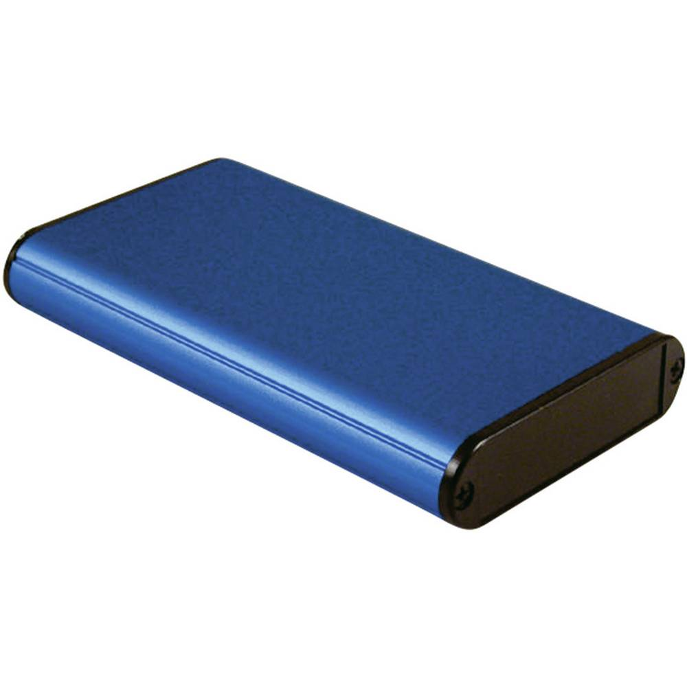 Univerzalno kućište 120 x 71.7 x 19 Aluminijum Plava boja Hammond Electronics 1455B1202BU 1 ST