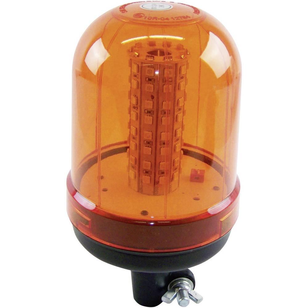 LED vrtljiva luč 12/24 V oranžne barve, montaža s klasičnim nosilcem 20199