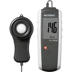 Luxmeter VOLTCRAFT PL-110SM 0 - 1999 W/m² Kalibrerad enligt (ej certifierad kalibrering)