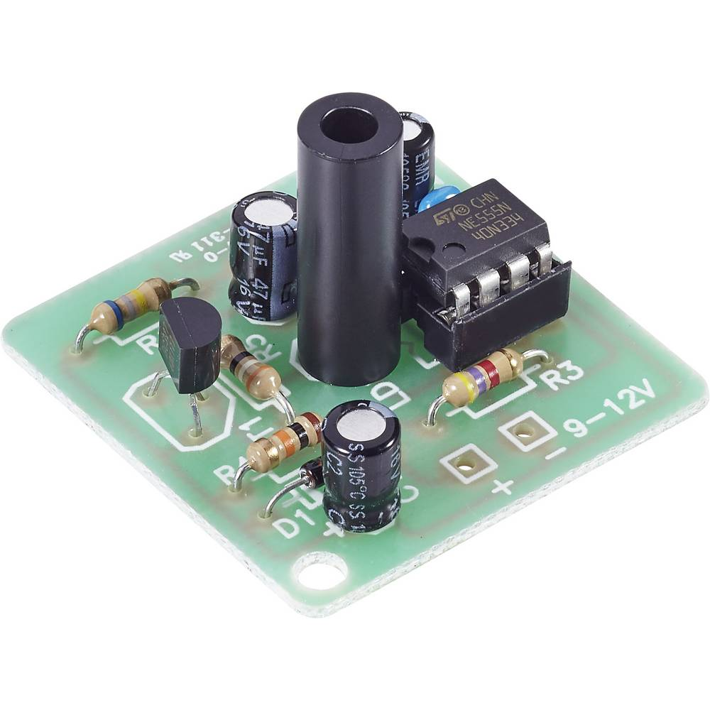 Snažna LED bljeskalica 101133 Conrad 9 - 15 V/DC Komplet za sastavljanje