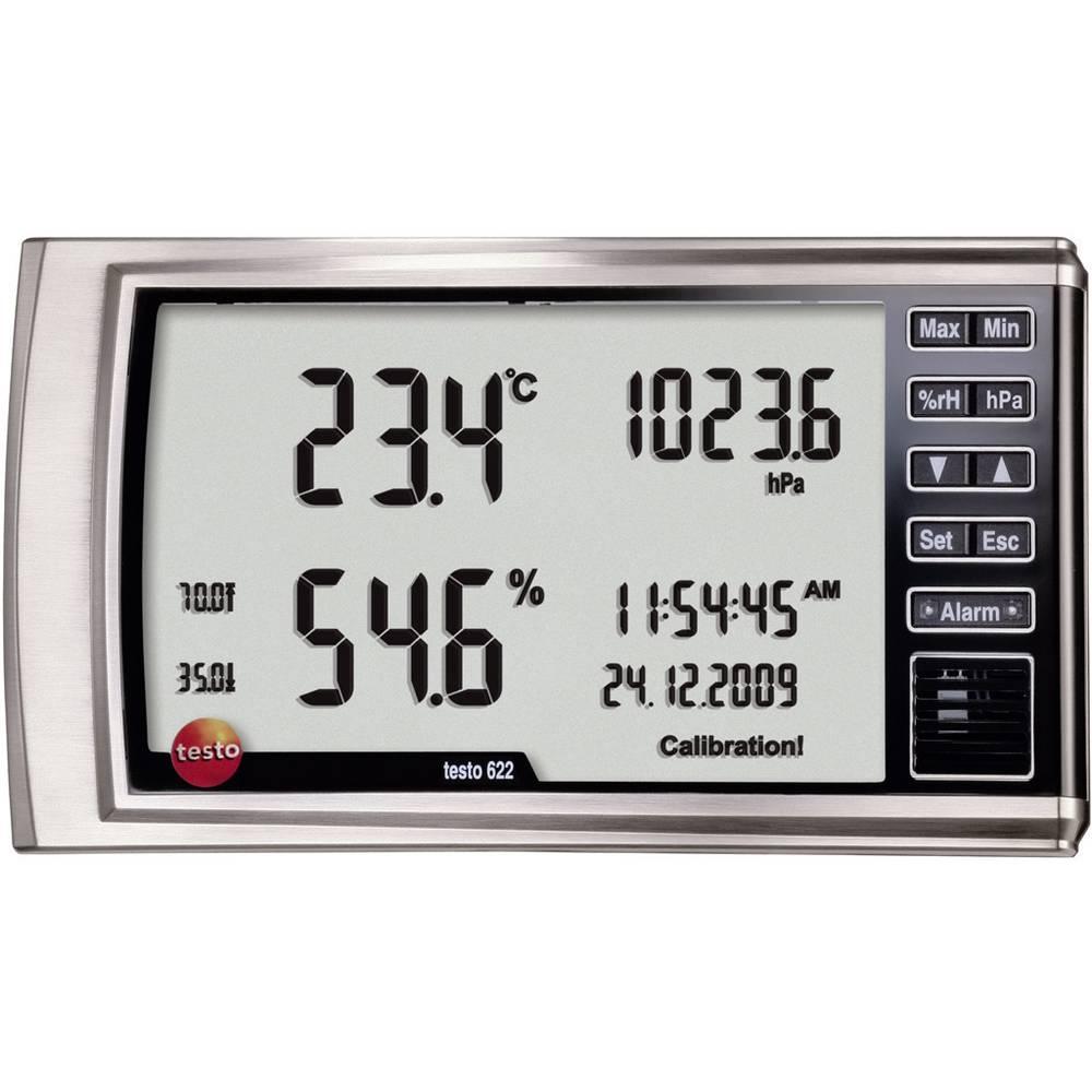 Merilnik vlažnosti zraka (higrometer) testo 622 0 % rF 100 % rF kalibracija narejena po: delovnih standardih