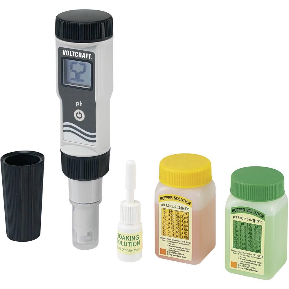 VOLTCRAFT PHT-02 ATC pmerilnik pH 0 - 14 pH