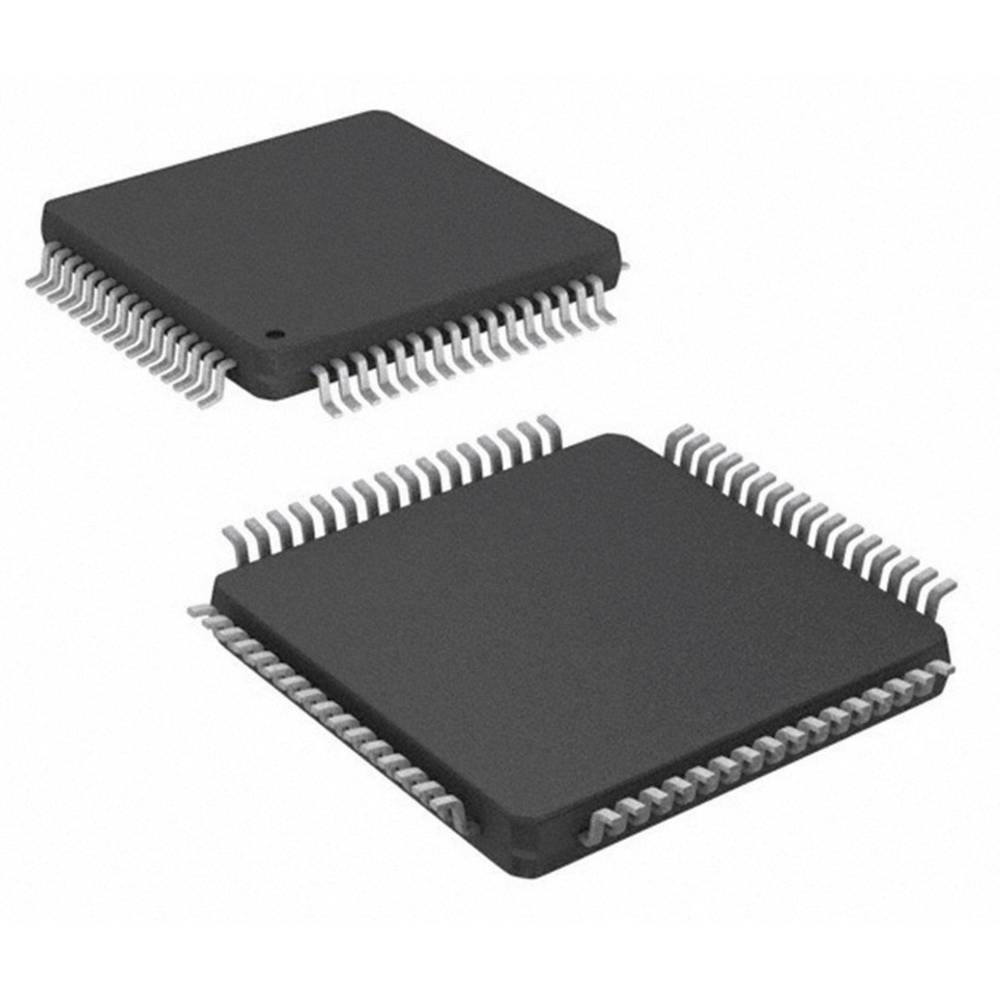 Vgrajeni mikrokontroler PIC16F1527-I/PT TQFP-64 (10x10) Microchip Technology 8-bitni 20 MHz število I/O 54