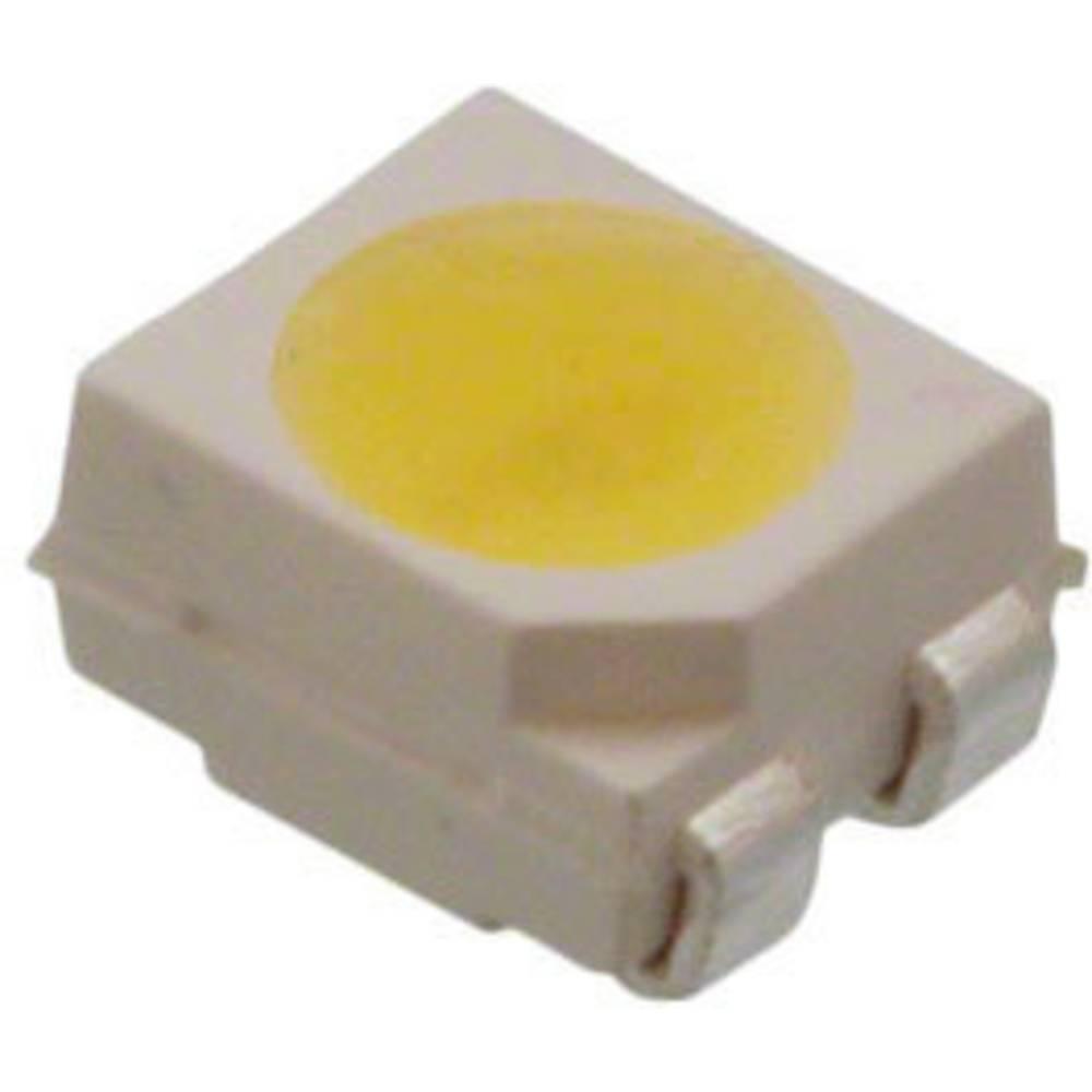 SMD-LED (value.1317393) Broadcom ASMT-SWB5-NW703 PLCC4 2125 mcd 120 ° Hvid
