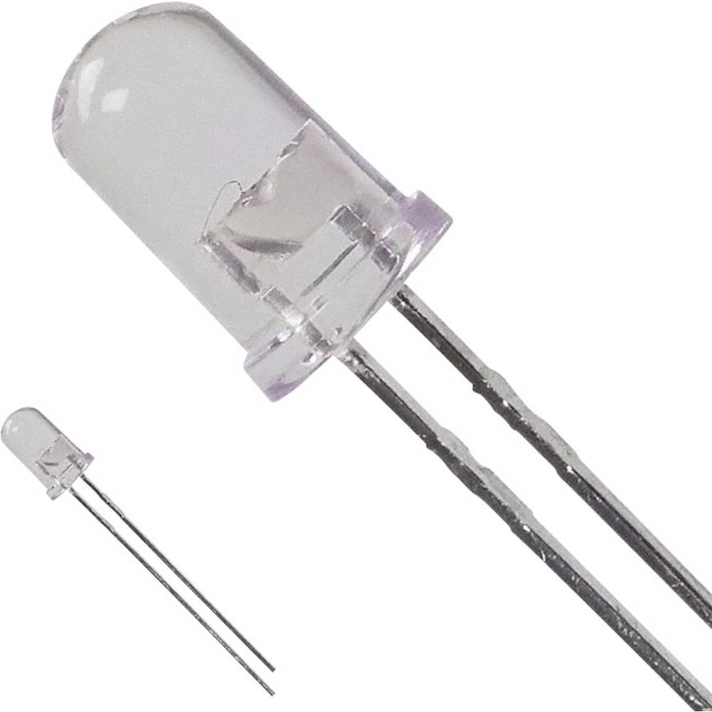 LED med ledninger Broadcom 5 mm 16.5 cd 15 ° 50 mA 2.1 V Rav