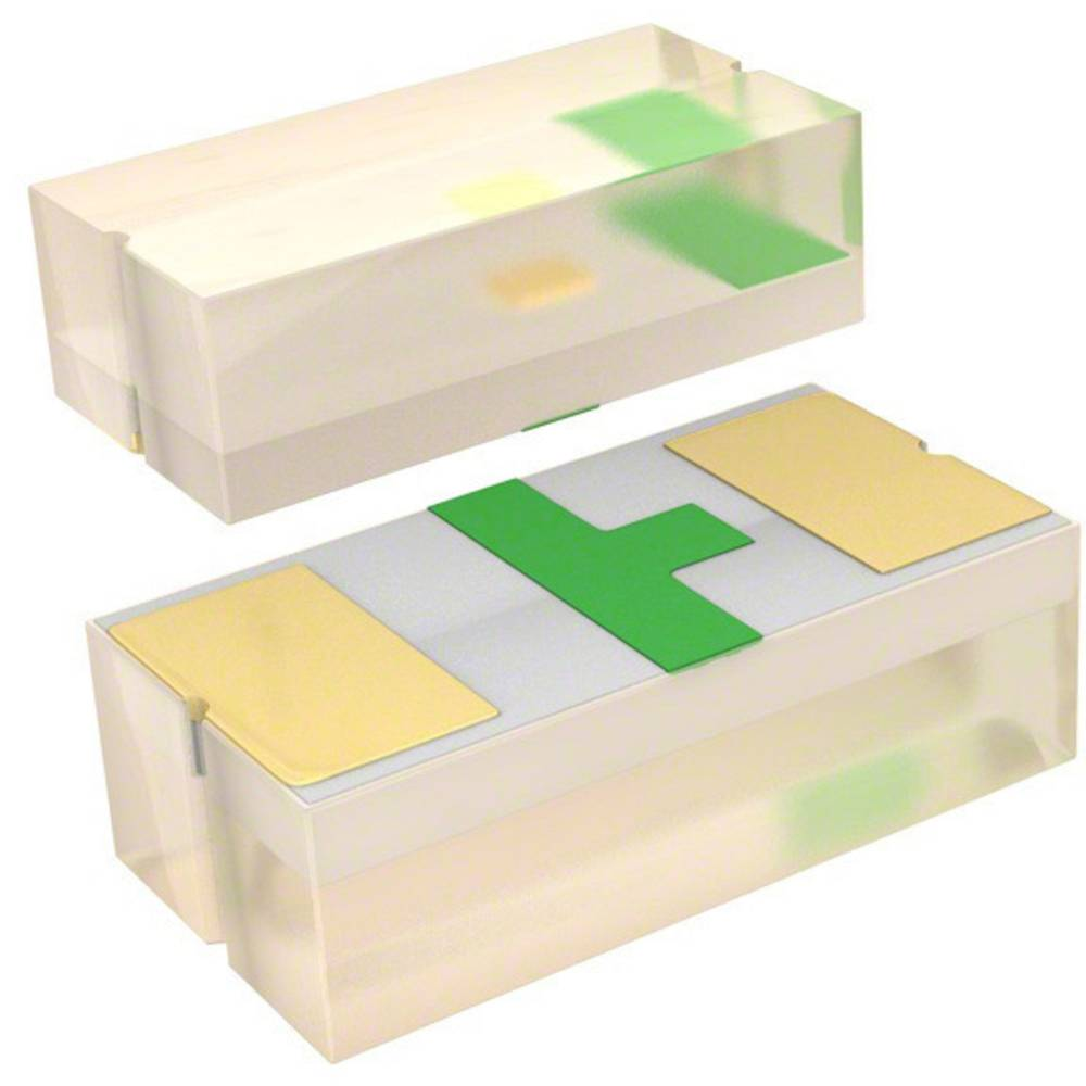 SMD-LED (value.1317393) Broadcom HSMC-C280 1005 90 mcd 130 ° Rød