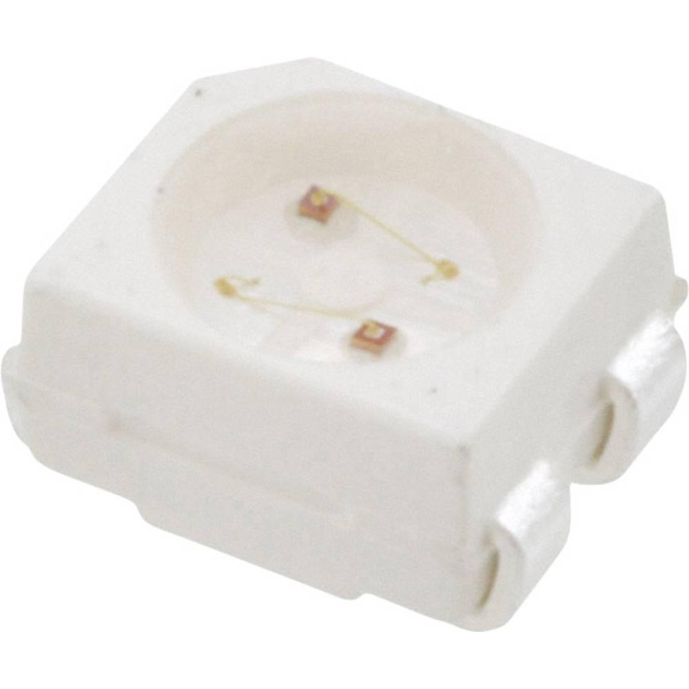 SMD-LED (value.1317393) Broadcom HSMF-A206-A00J1 PLCC4 20 mcd, 16 mcd 120 ° Grøn, Gul