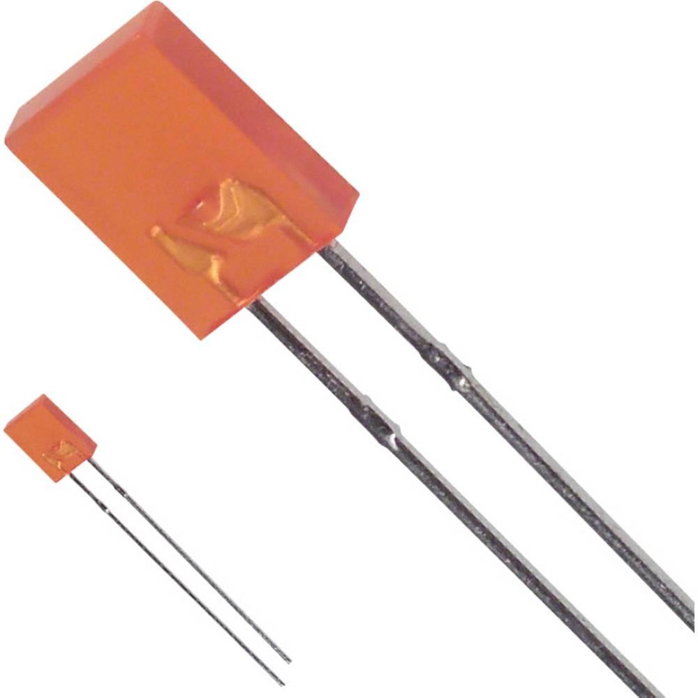 LED med ledninger LUMEX 2 x 5 mm 5 mcd 110 ° 30 mA 2 V Rav