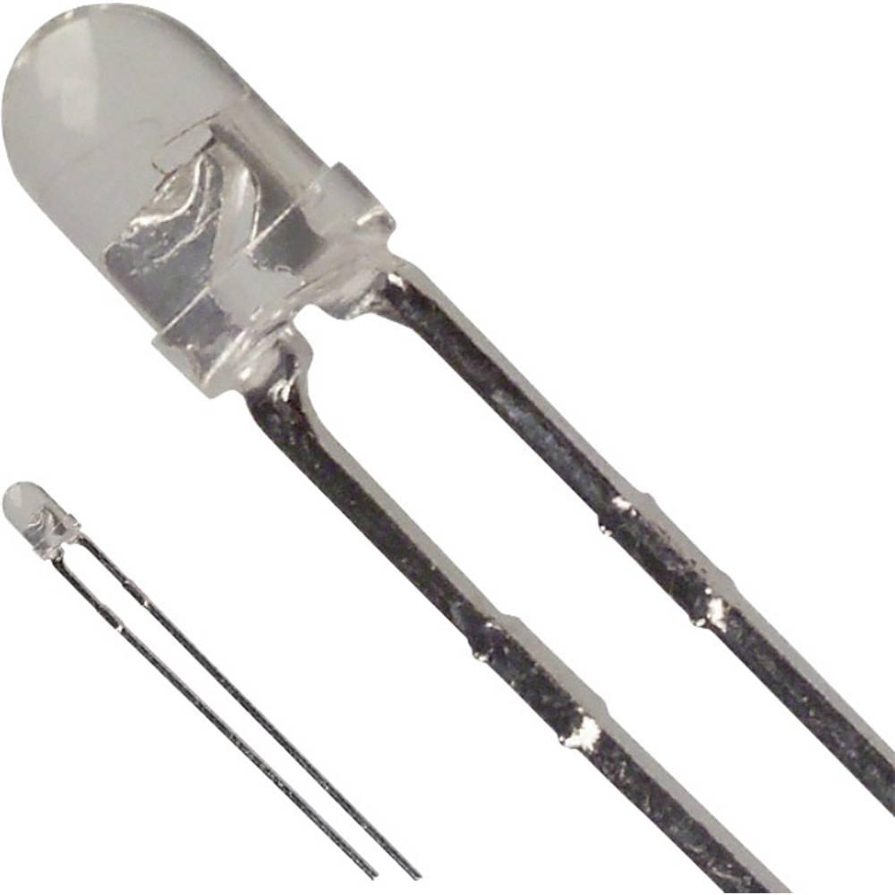 LED bedrahtet (value.1317403) LUMEX 3 mm 100 mcd 30 ° 25 mA 2.2 V Grøn