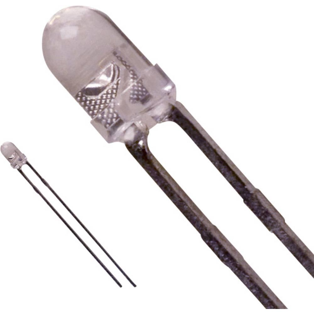 LED med ledninger LUMEX 3 mm 1000 mcd 30 ° 30 mA 2.1 V Gul