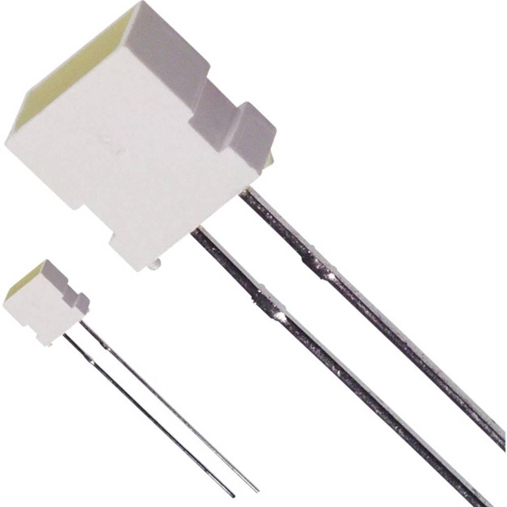 Ožičena LED dioda, rumena, pravokotna 3.65 x 6.15 mm 6 mcd 100 ° 30 mA 2.1 V LUMEX SSL-LX4673YD-LA20