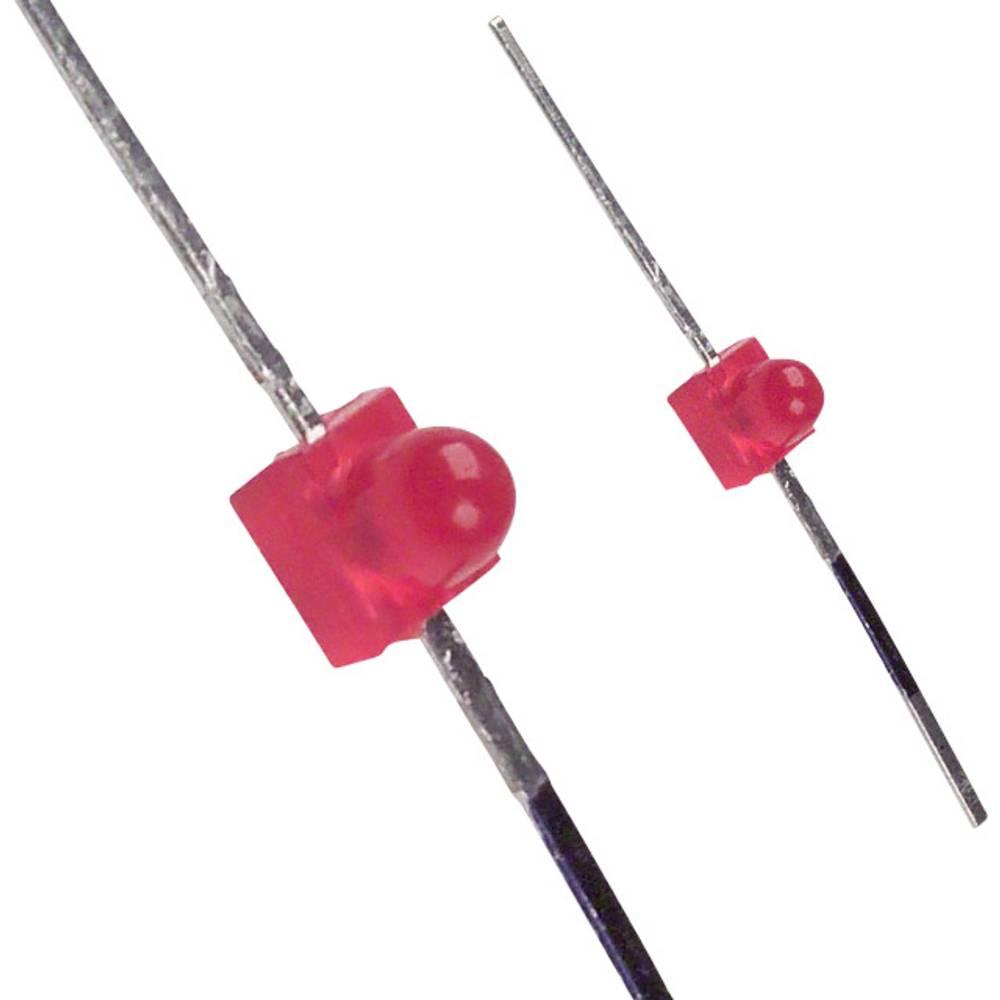LED bedrahtet (value.1317403) LUMEX 1.9 mm 25 mcd 50 ° 30 mA 2 V Rød