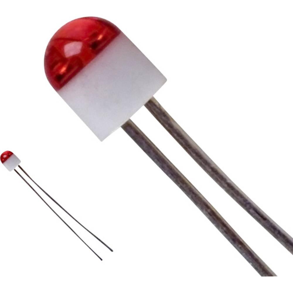 LED med ledninger LUMEX 2 mm 6 mcd 160 ° 30 mA 2 V Rød