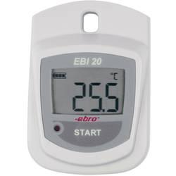 Shranjevalnik podatkov o temperaturi Ebro EBI 20-T1, 1 kanal, -30 do +60 °C, 0,1 °C 1601-0042