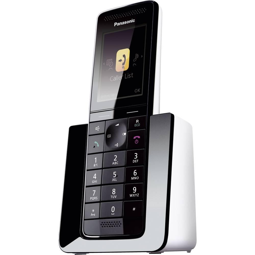 Bežični analogni telefon Panasonic KX-PRS120 telefonska sekretarica, baby monitor, crne, bijele boje