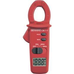 Tokovne klešče, digitalne Benning CM 1-1 kalibracija narejena po: delovnih standardih, CAT III 600 V število znakov na zaslonu: