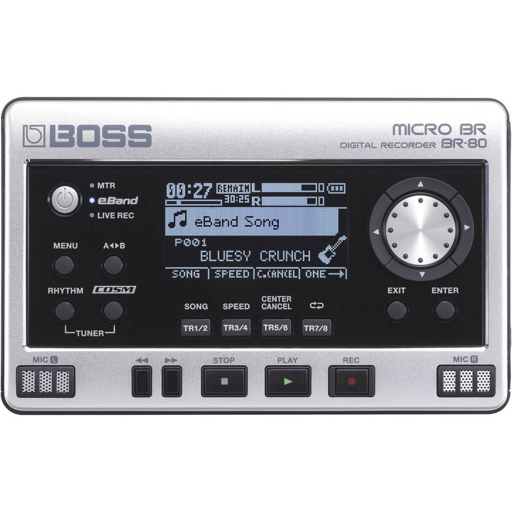 Audio snimač Boss Audio Systems BR-80 crno-srebrni 411141E99