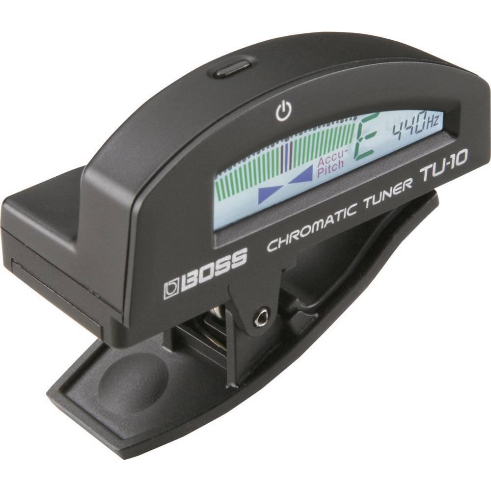 Uređaj za ugađanje gitara Boss Audio Systems TU-10-BK crni 411001E99