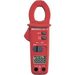 Tokovne klešče, ročni multimeter, digitalni Benning CM 1-2 kalibracija narejena po: delovnih standardih, CAT III 600 V število z