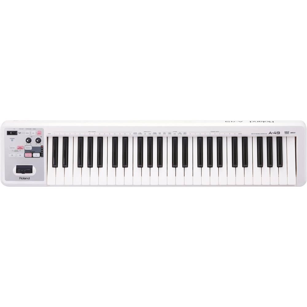 MIDI klaviatura Roland A-49-WH