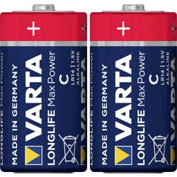 Baby (C)-baterija alkalno-manganova Varta Max Tech LR14 1.5 V 2 kosa