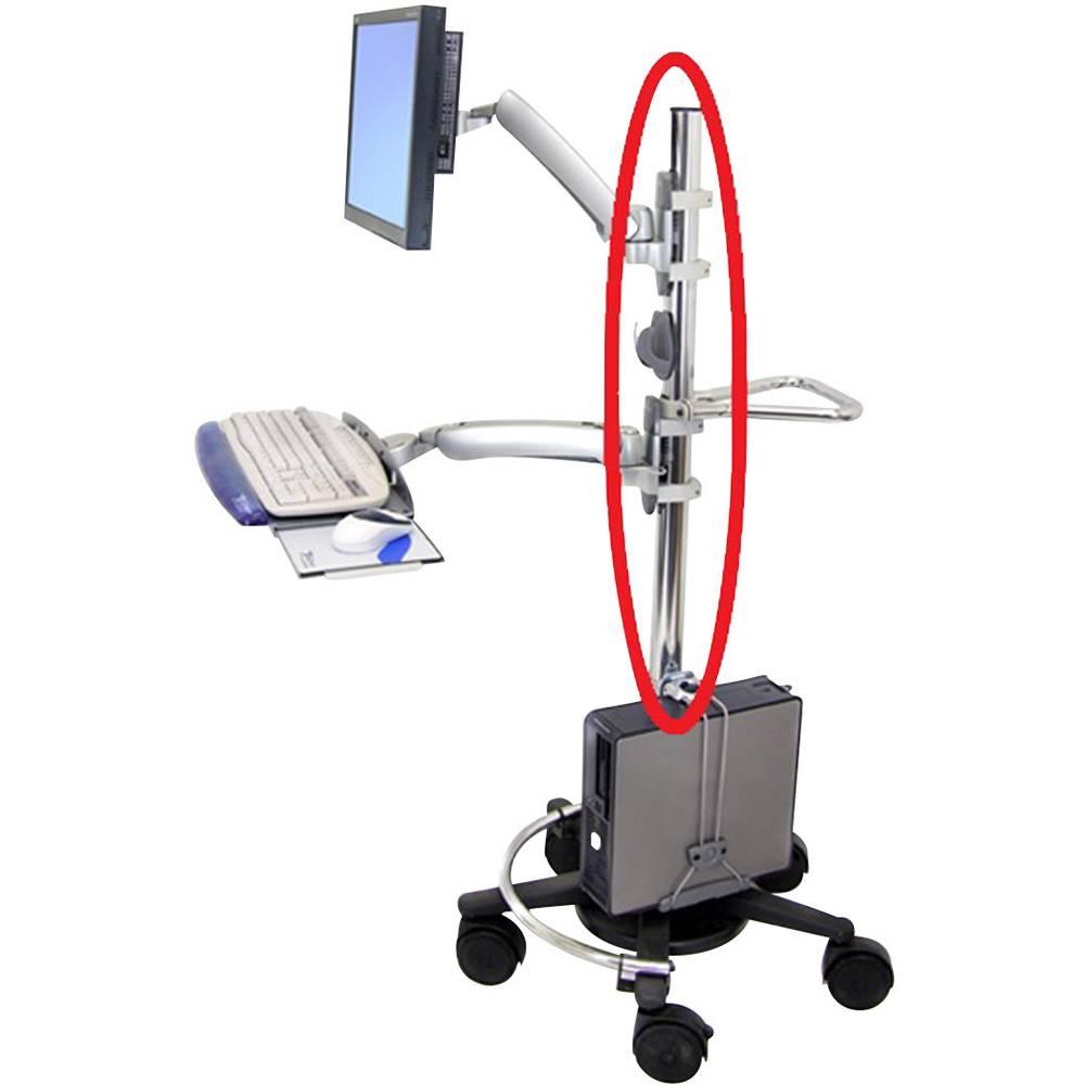 Montažni štap Pogodno za seriju: Ergotron Mobilno radno postolje Ergotron Srebrna