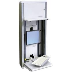 Ergotron 1 kratni Stenski nosilec za monitor 25,4 cm (10) - 55,9 cm (22) Polica za tipkovnico, Možnost obračanja