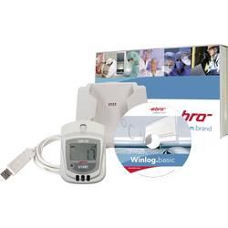 ebro Komplet EBI 20-TH1 temperatura/vlažnostshranjevalnik podatkov, zapisovalnik meritev, 1601-0048