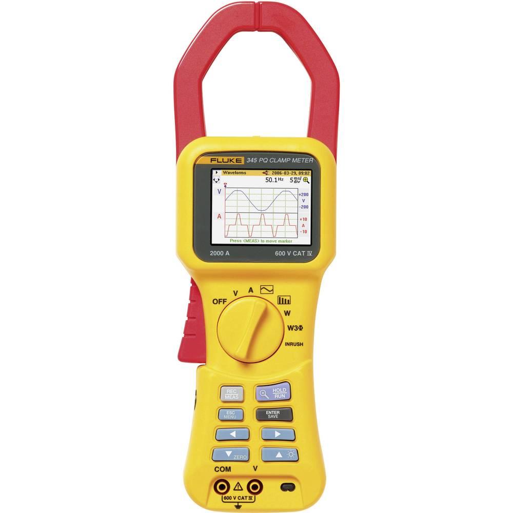 Fluke 345 analizator omrežja 2584181 CAT IV 600 V kalibracija narejena po ISO